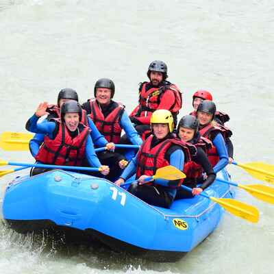 White water rafting - a wet and wild experience